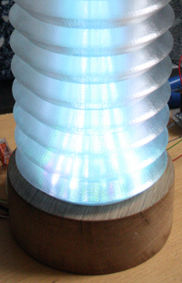 Plasma shade lamp L1 by TT Leozolt